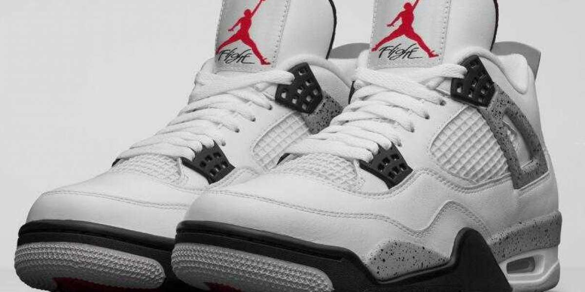Do Not Missed the Hottest Air Jordan 4 White Cement