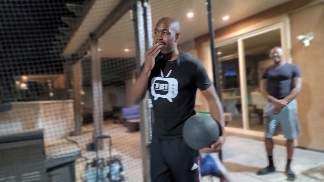 SUPER ATHLETE! AP hits Homeruns and catches Dunks at 40 years old