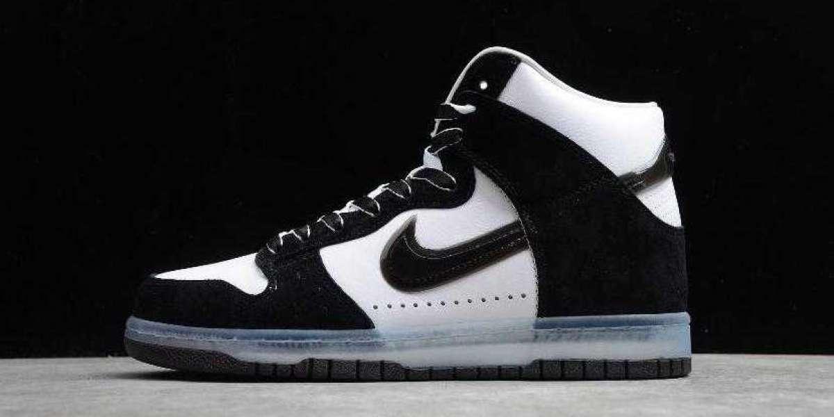 Buy Best Price 2020 Nike Dunk High SP Slam Jam White Clear Black Sneakers
