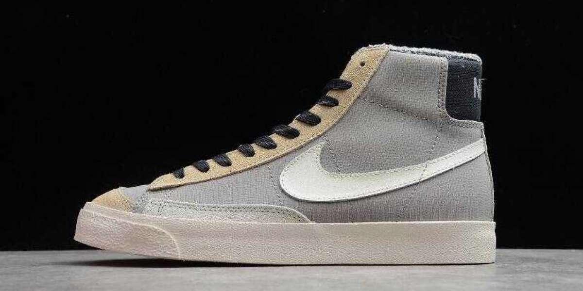 Buy Nike Blazer Mid 77 VNTG SE College Grey Light Bone for 2021 New Year