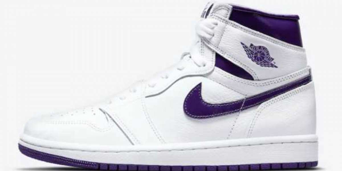 "Air Jordan 1 High OG WMNS ""Court Purple"" 2021 New Arrival CD0461-151"