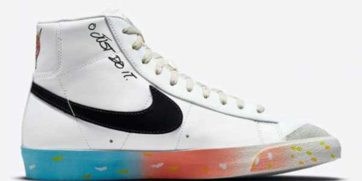 "Nike Blazer Mid 77 ""Just Do It"" 2021 New Arrival DJ4278-101"