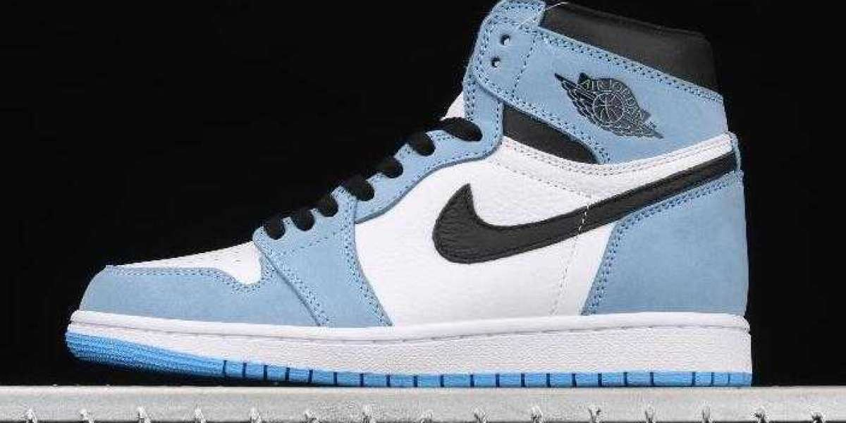 Add On Pair Air Jordan 1 High OG University Blue to Collection