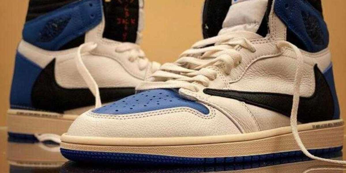"Travis Scott x Fragment x Air Jordan 1 High OG SP ""Military Blue"" for Fall 2021"