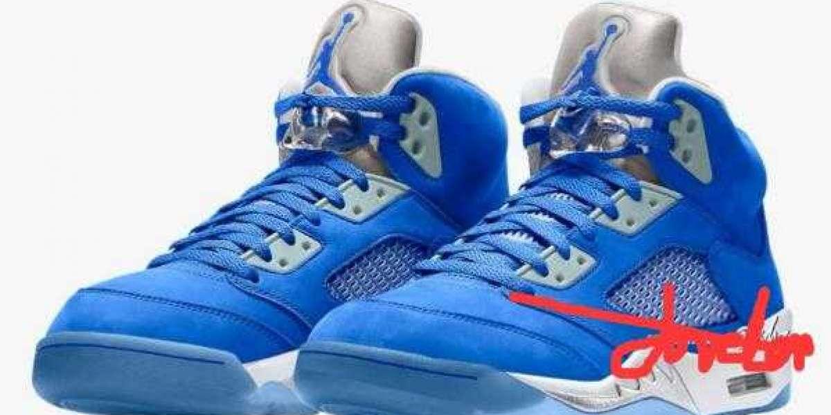 "Air Jordan 5 WMNS ""Bluebird"" Will Arriving on October 7th, 2021"