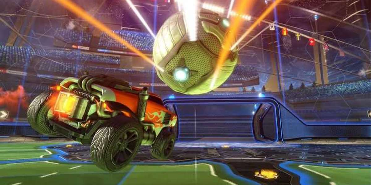 Rocket League is football with rocket-powered cars