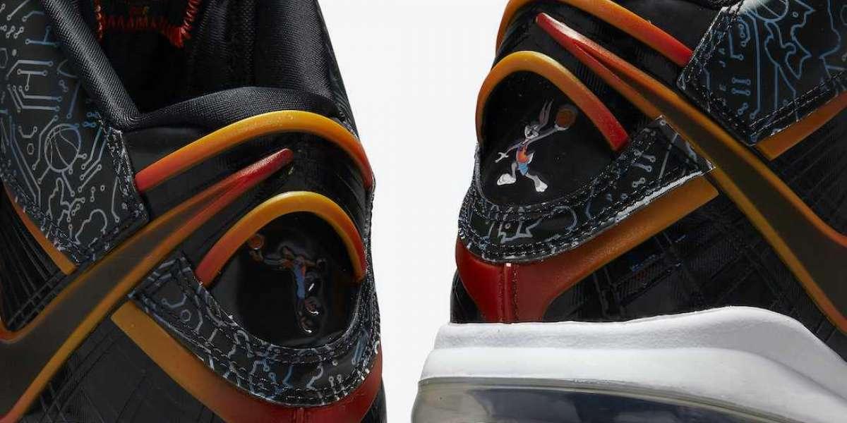 "2021 New Nike LeBron 8 ""Space Jam"" DB1732-001 High Quality"