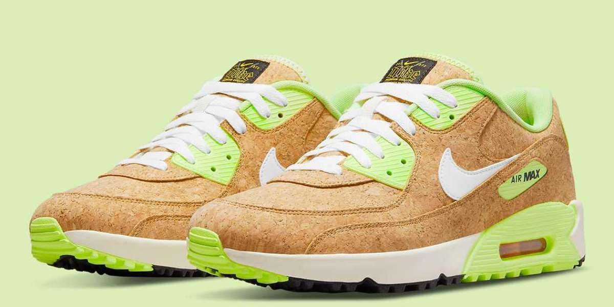 Nike Constructs Their Latest Air Max 90 Golf Entirely Out Of Cork For Sale