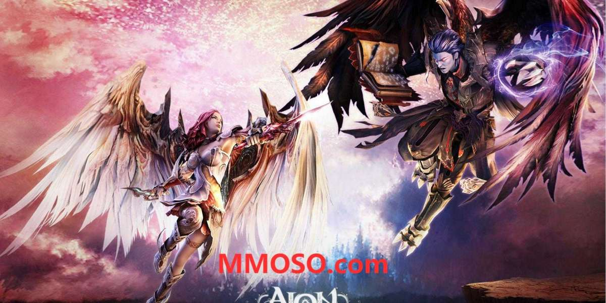 Many new games have appeared recently, but I like Aion Classic and New World the most
