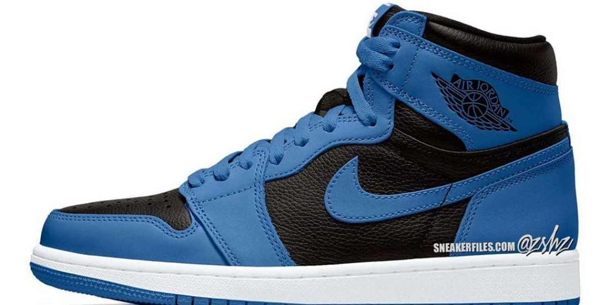 """555088-404 Air Jordan 1 Retro High OG """"Dark Marina Blue"""" is expected to be released in January 2022"""