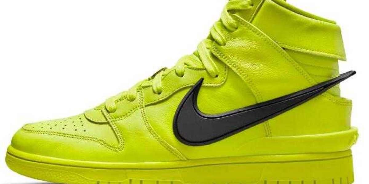 2021 AMBUSH x Nike Dunk High Flash Lime to Release Soon