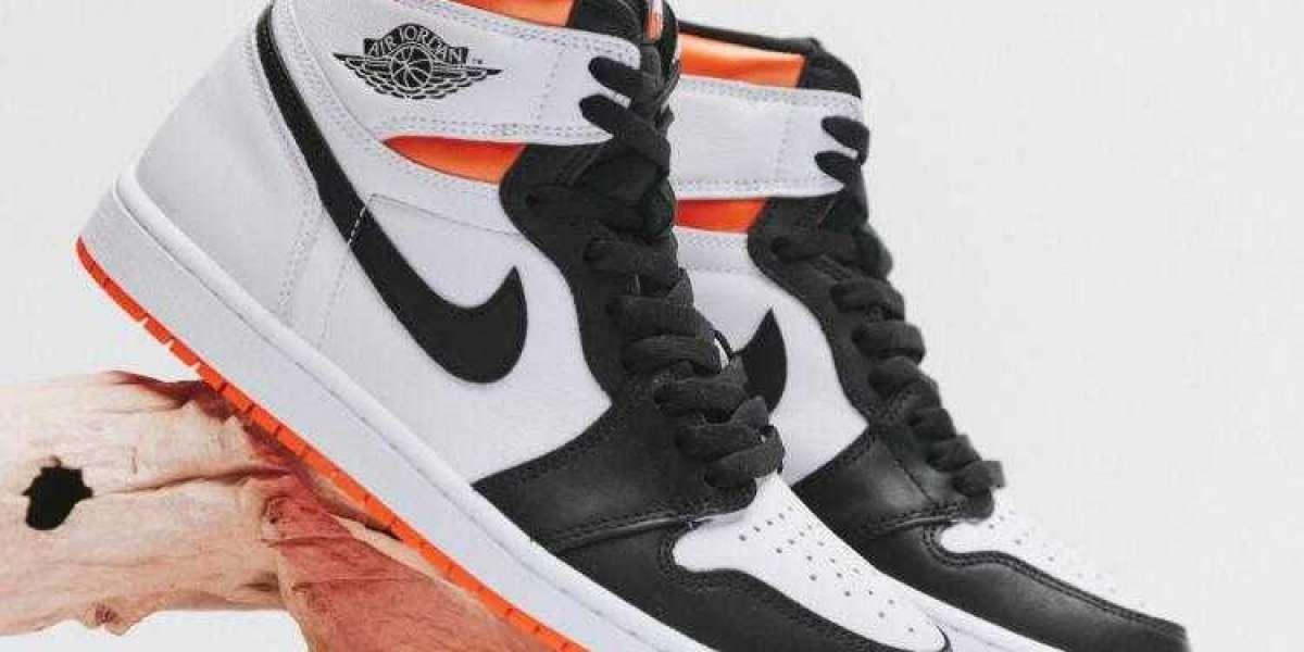 Always Classic Sneakers Air Jordan 1 Retro High OG Electro Orange
