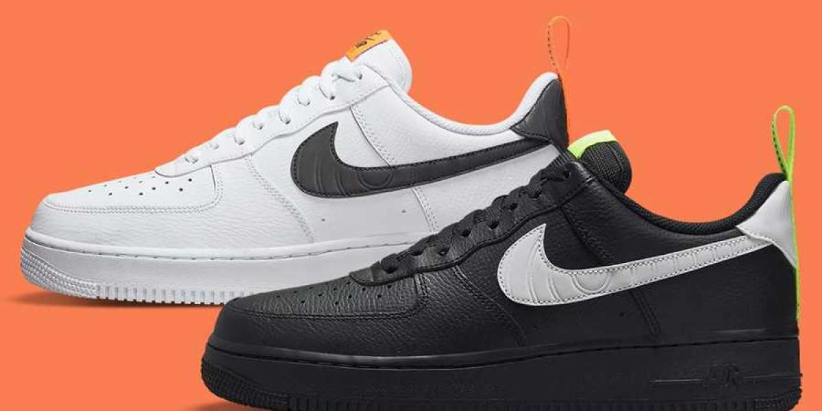 """2021 New Nike Air Force 1 Low """"Pivot Point"""" DO6394-100/DO6394-001 Hot Sell !"""