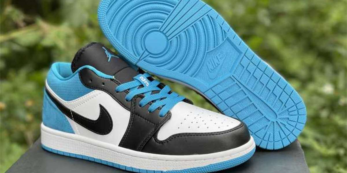 "Top Quality Air Jordan 1 Low ""Laser Blue"" CK3022-004"
